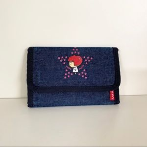 Vintage Dalki denim wallet